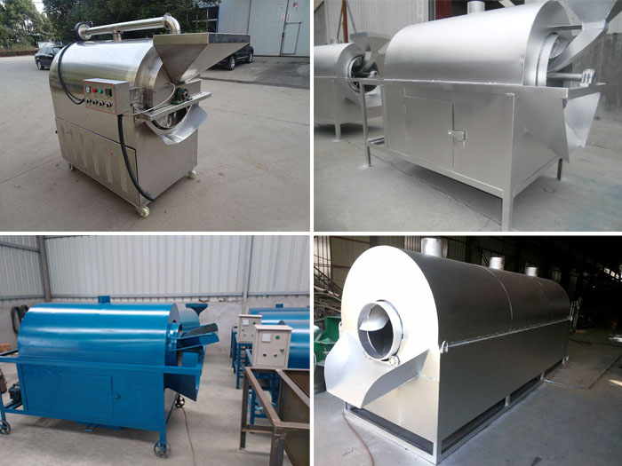 commercial peanut roaster machine
